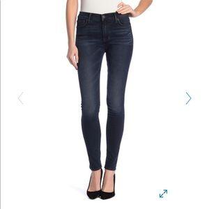 Hudson Blair High Waisted Skinny Jeans . 27. Dark.
